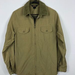Vintage Woolrich Olive Green Military Jacket Sz S